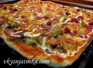 Домашняя мексиканская пицца - фото