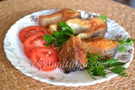 Форель жареная на сковороде - фото