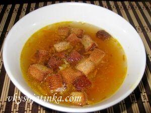 Вкусный гороховый суп со свининой - фото