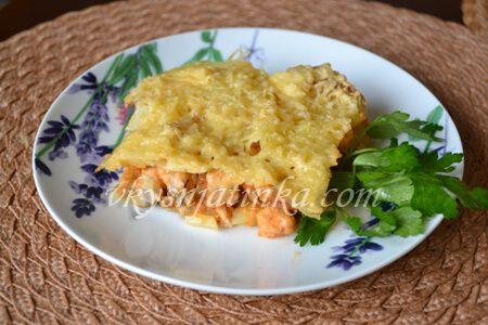 Гратен из картофеля - фото