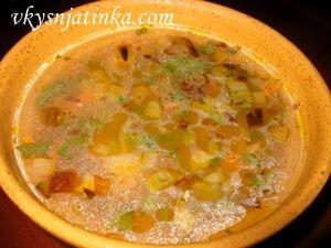 Гречневый суп со свининой - фото