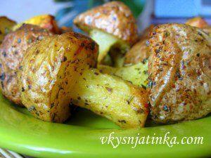 Грибочки из картошки - фото