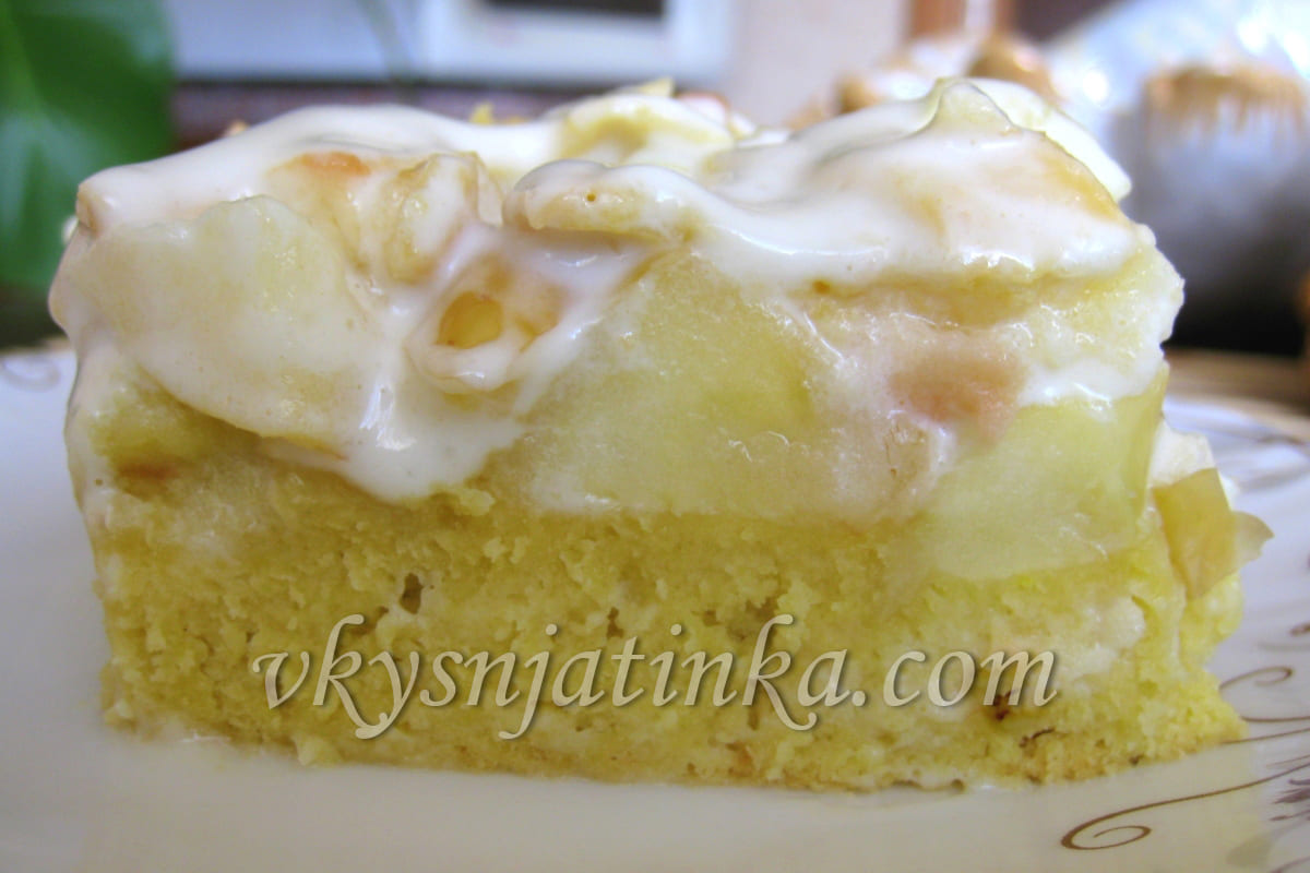 Ирландский яблочный пирог - фото