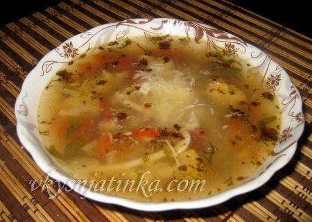Итальянский овощной суп «Минестроне» - фото
