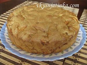 Рецепт яблочной шарлотки - фото