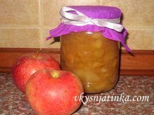 Яблочное варенье на зиму - фото