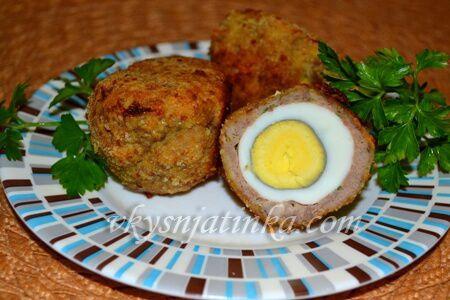 Яйца по-шотландски - фото