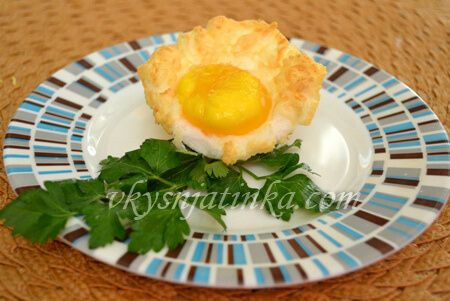 Яйца запеченные в духовке - фото