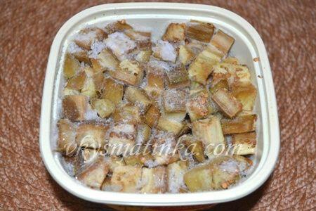 Как заморозить баклажаны на зиму - фото