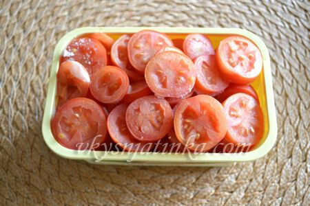 Как заморозить помидоры на зиму - фото