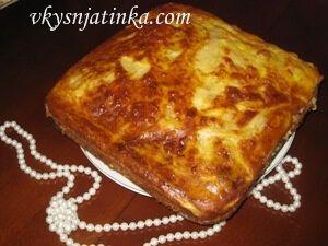 Картофельная запеканка с мясом - фото