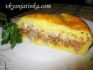 Картофельная запеканка с сыром - фото