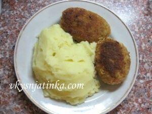 Картофельное пюре со сметаной - фото