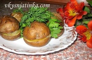 Картофельные кораблики - фото