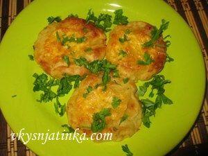 Картофельные оладьи с сыром - фото