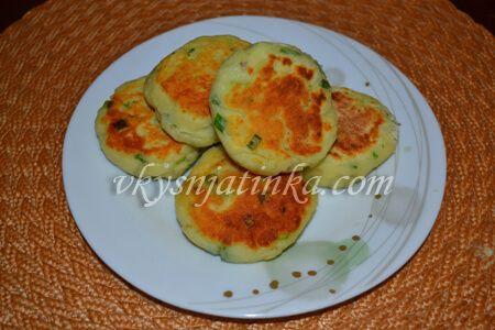 Картофельные сырники - фото
