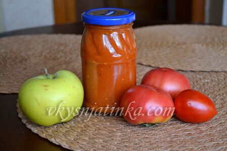 Кетчуп с яблоками в домашних условиях - фото