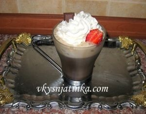 Кофе с какао - фото