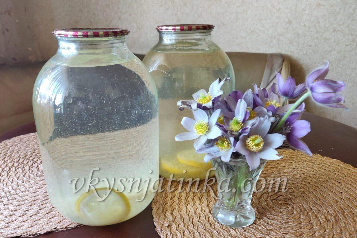 Консервированный березовый сок - фото