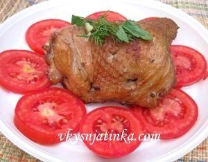 Куриные бедрышки на пикнике - фото