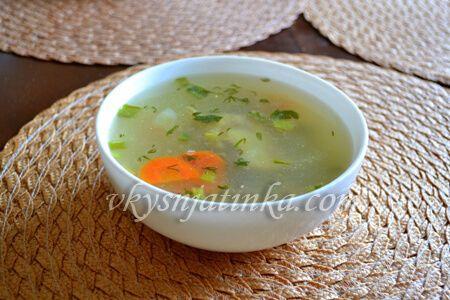 Куриный суп с рисом и картошкой - фото