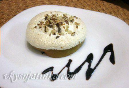 Легкий десерт из хурмы - фото