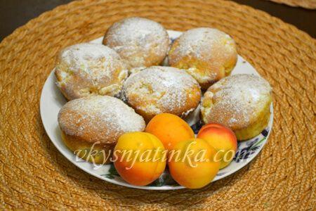 Маффины из абрикосов - фото