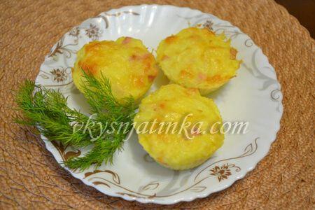 Маффины из картошки - фото