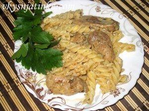 Макароны с мясом по-итальянски - фото