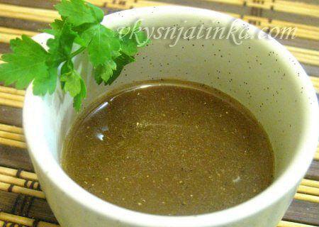 Медово-горчичный соус - фото