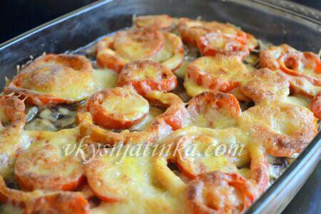 Мусака с баклажанами и картофелем - фото