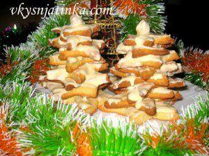 Новогоднее печенье - фото