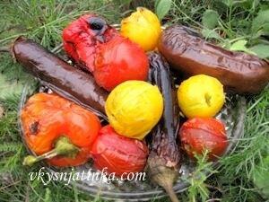 Овощи на гриле - фото