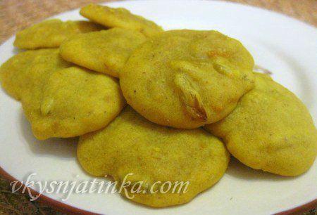 Печенье из тыквы - фото