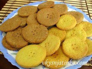 Песочное печенье на маргарине - фото