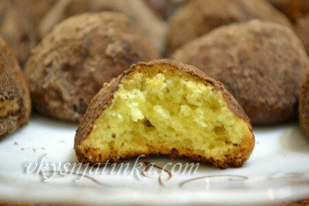 Песочное печенье на масле - фото