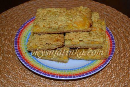 Песочный пирог с вареньем - фото
