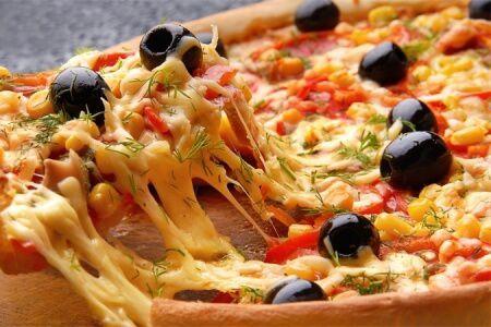 Пицца на кефире - фото