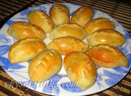 Пирожки с курицей и грибами - фото
