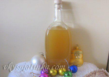 Рождественская настойка на водке - фото