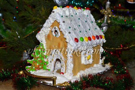 Пряничный домик своими руками - фото