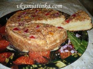 Простой бисквит для торта в духовке - фото