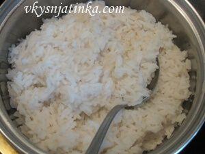 Рис вареный на воде - фото