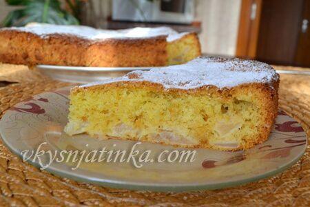 Самый вкусный пирог с яблоками - фото