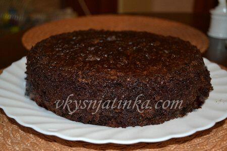 Шоколадный пирог с кабачками - фото