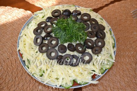 Шопский салат - фото
