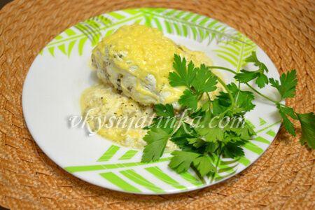 Сочная горбуша жареная на сковороде - фото