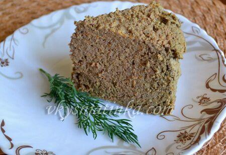 Суфле из печени индейки - фото