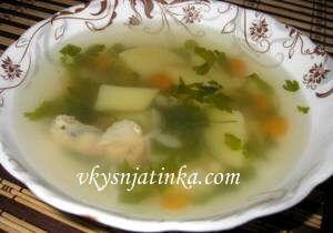 Суп из молодой фасоли - фото