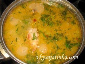 Суп-жаркое из свинины - фото